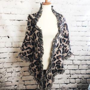 ALTAR'D STATE Cheetah Print Shawl